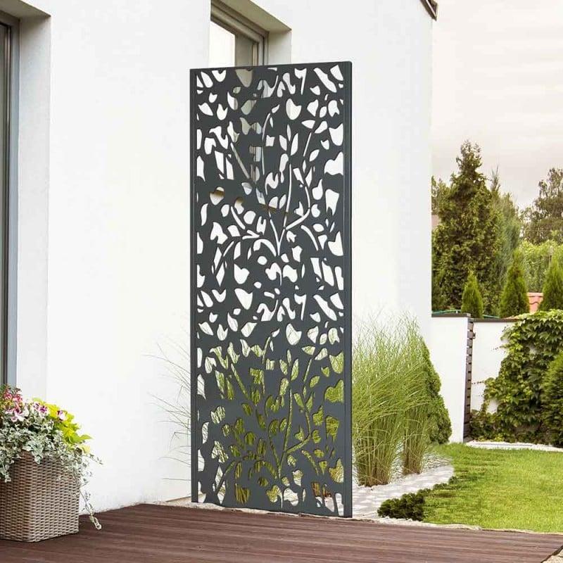 Panneau décoratif extérieur métal 160 x 60 cm (2)