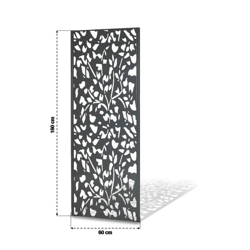 Panneau décoratif extérieur métal 160 x 60 cm (3)