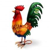 Coq deco jardin animaux (2)