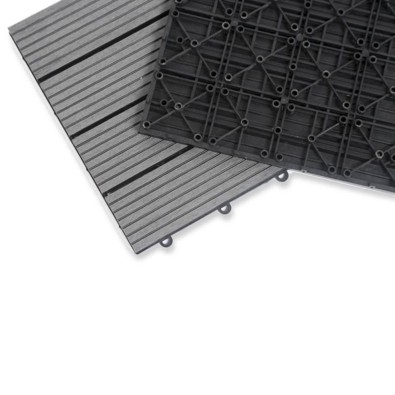 Dalle terrasse composite effet bois - Lot de 5 (4)