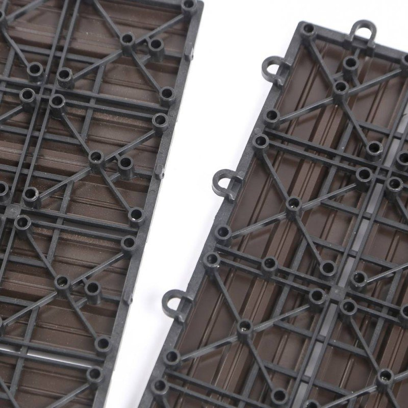 Dalle terrasse composite effet bois - Lot de 5 (7)