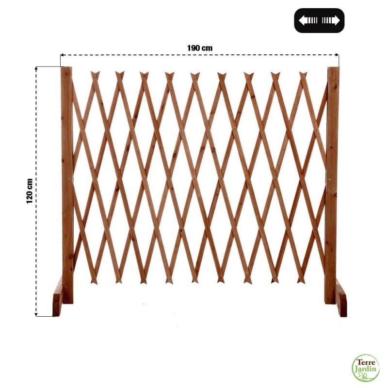 Barrière de protection extensible 120 cm (2)