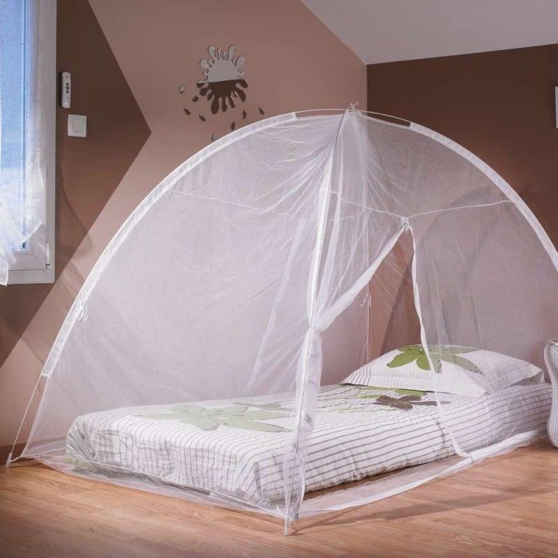 Moustiquaire dôme pour lit 2 m (3)