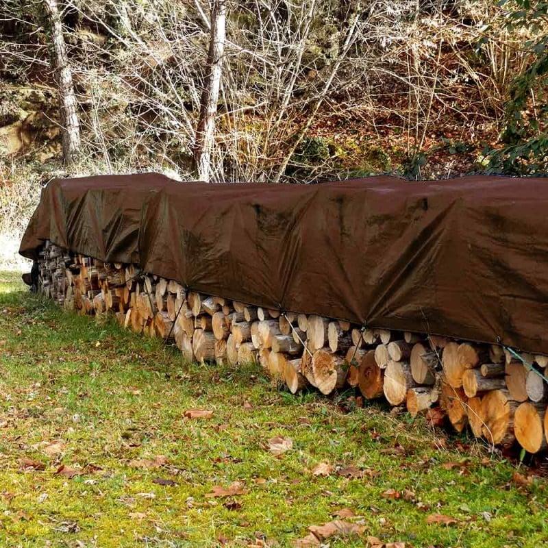 Bâche à bûches nature 140 g m2 (2)