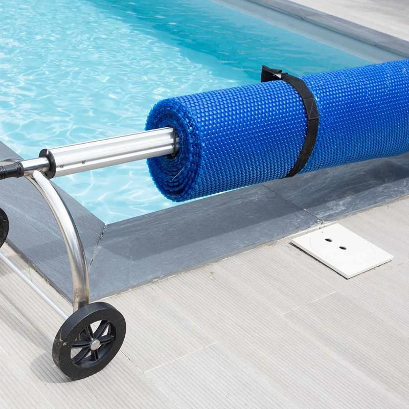 Bâche à bulles piscine rectangulaire (9)