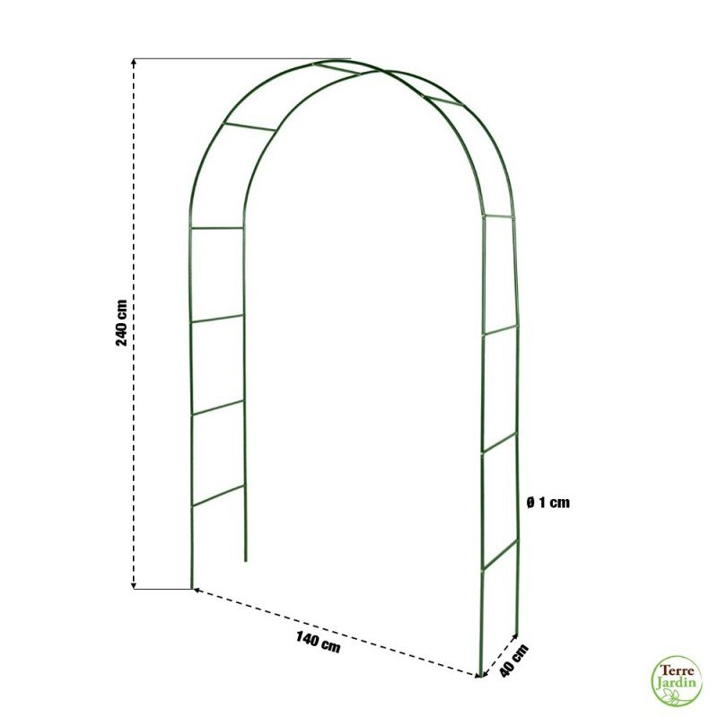 Arche de jardin pour plantes grimpantes (1)