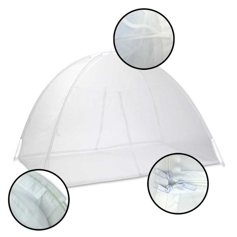 Moustiquaire dôme pour lit 2 m (2)
