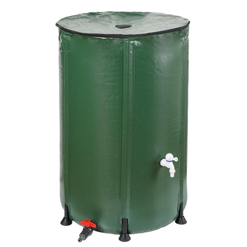 Réservoir récupérateur d'eau de pluie pliable