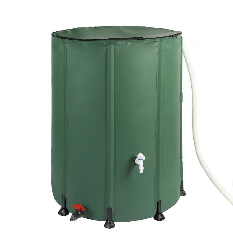 Réservoir récupérateur d'eau de pluie pliable (1)