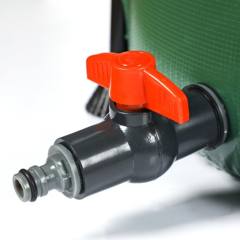 Réservoir récupérateur d'eau de pluie pliable (5)