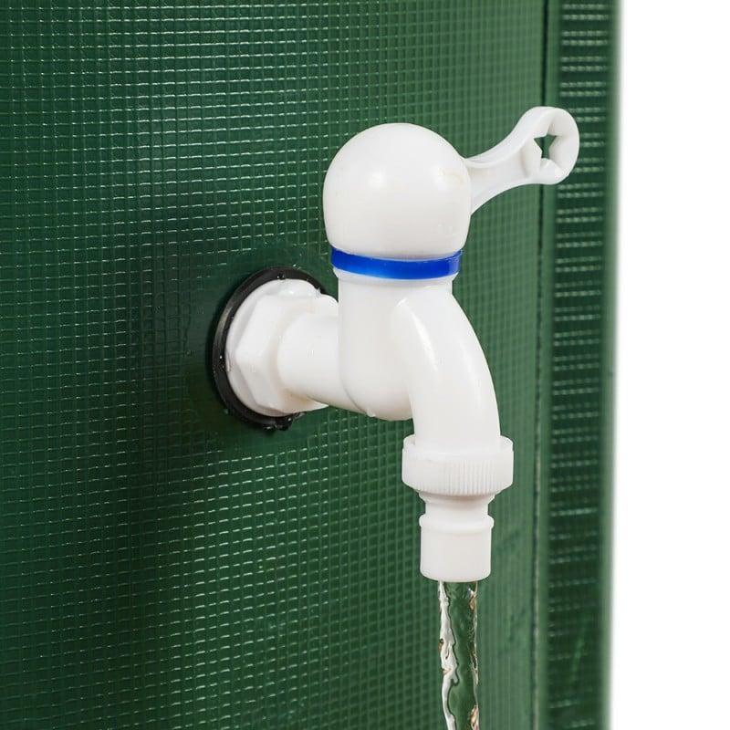 Réservoir récupérateur d'eau de pluie pliable (6)
