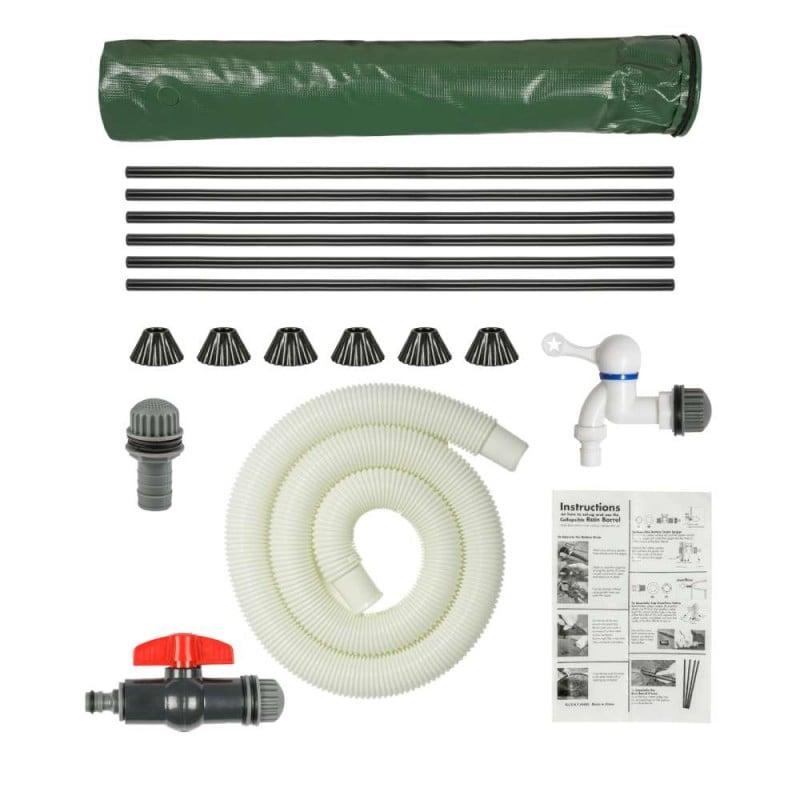 Réservoir récupérateur d'eau de pluie pliable (9)