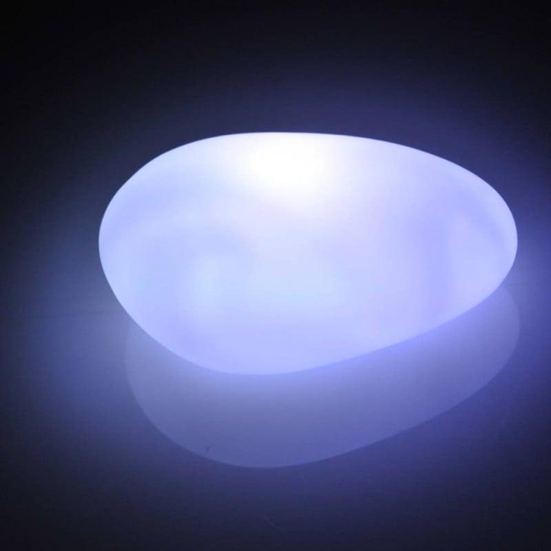 Galet décoratif lumineux : lampe galet ou veilleuse LED (1)