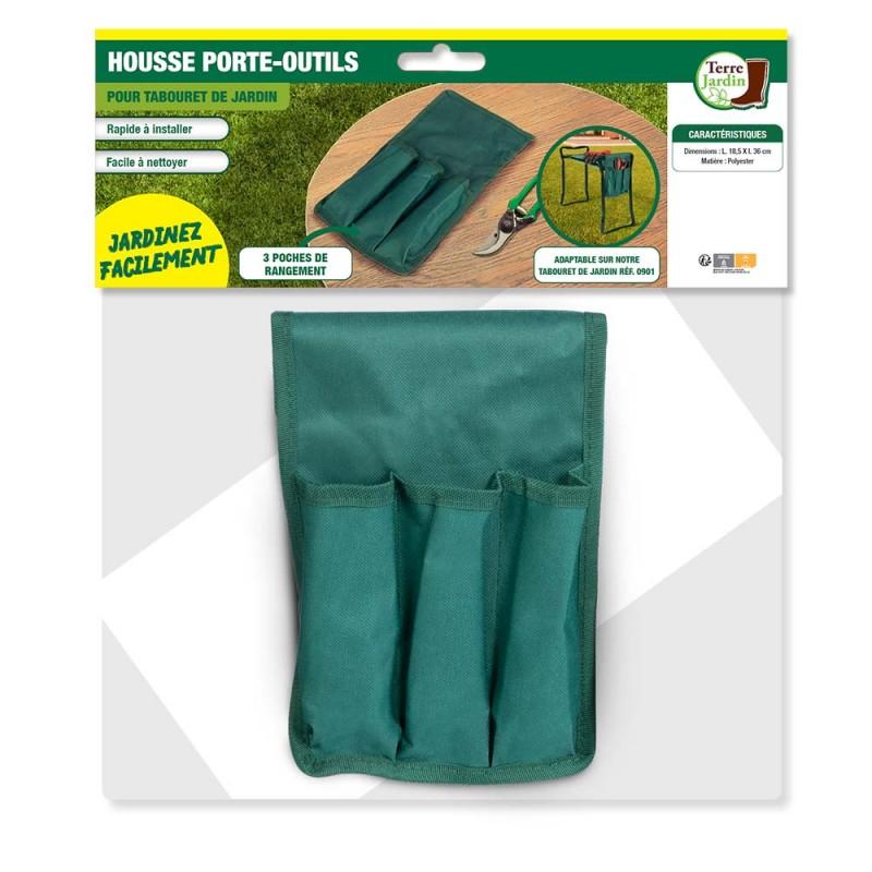 Porte outils pour tabouret de jardin (2)