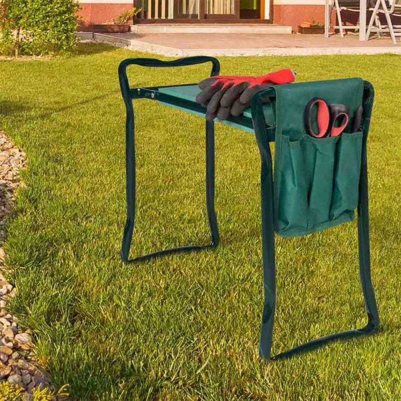 Porte outils pour tabouret de jardin (4)