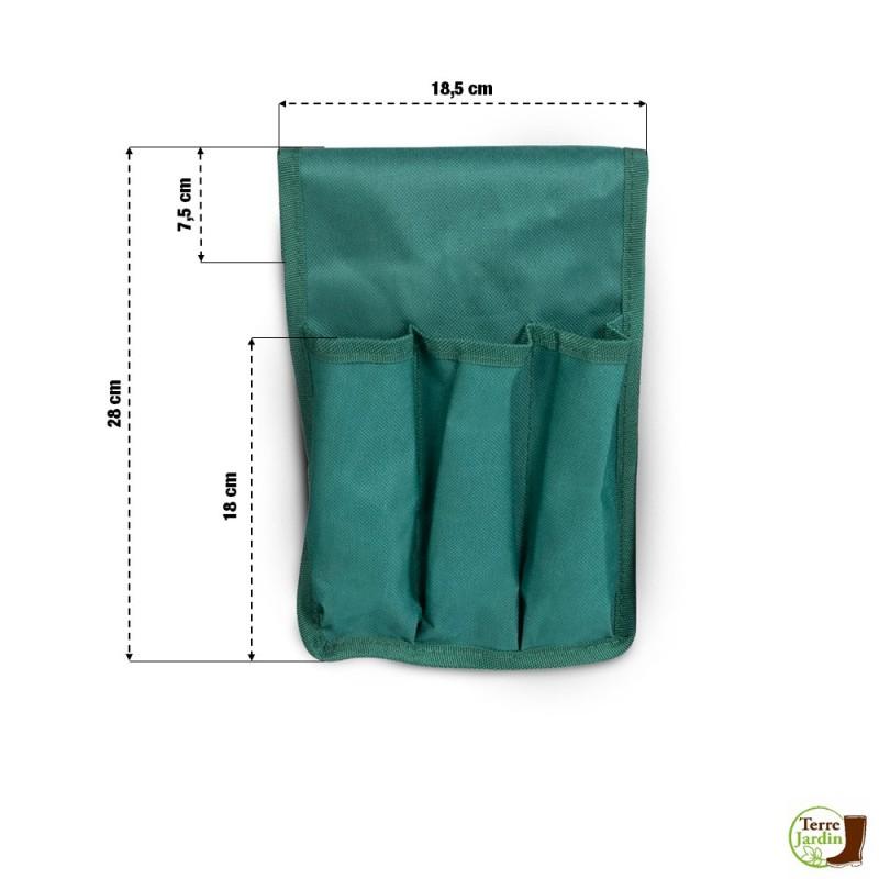 Porte outils pour tabouret de jardin (3)