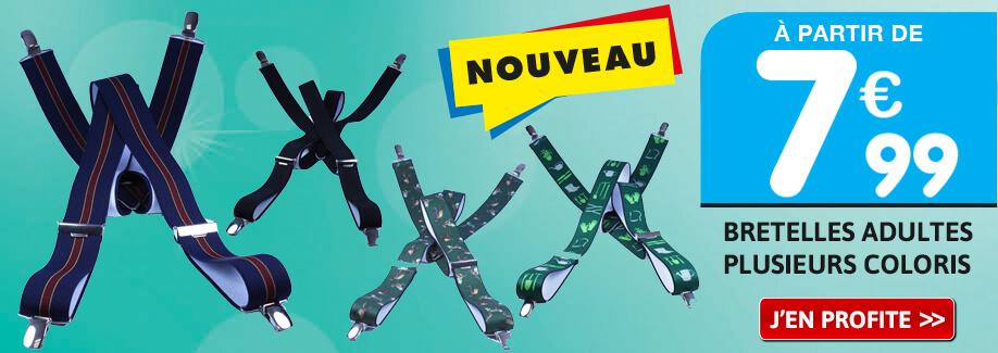 Nouveau : A vos bretelles