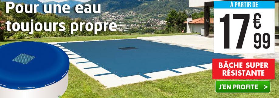 Protégez votre eau avec nos bâches piscine !
