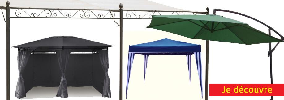 Printemps 2017 : Tonnelles et parasols