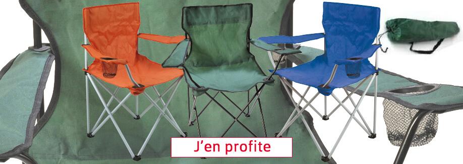 1 fauteuil acheté = 1 fauteuil gratuit !