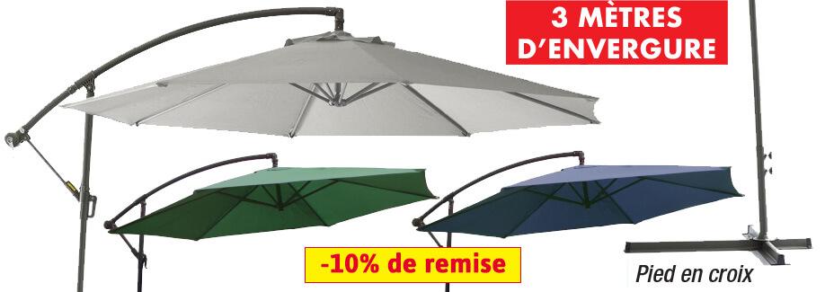 Le parasol ! L'accessoire estival par excellence