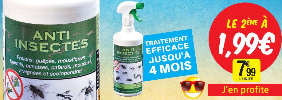 Le 2ème à 1€99 – Efficace jusqu'à 4 mois !