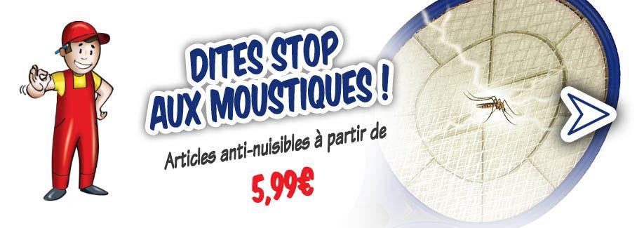 Dites stop aux moustiques