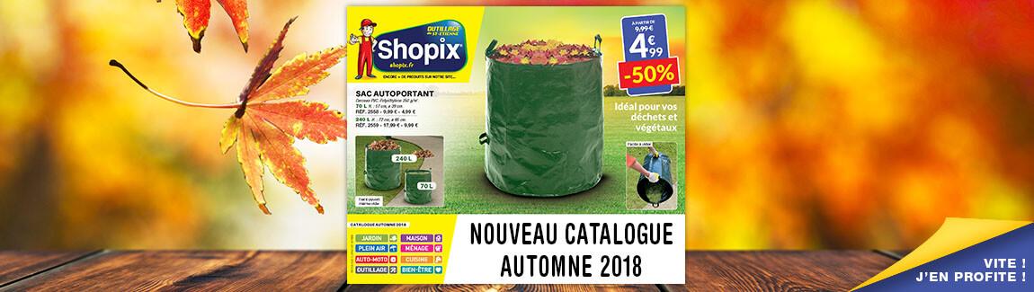 Découvrez le catalogue Shopix automne 2018 !