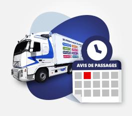 Planning de passage de nos camions