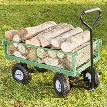 Quelle est l 39 utilit d 39 un chariot de jardin for Remorque de jardin 4 roues