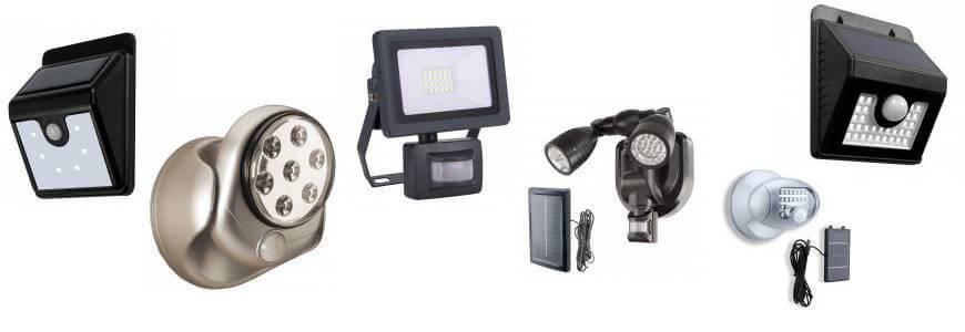 Éclairages à détecteur de mouvement Shopix