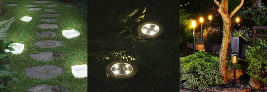 éclairages au sol pour allées de jardin Shopix