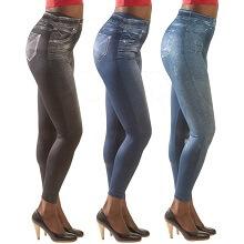 Lot de jegging jean slim pour femme
