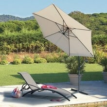 comment fixer un parasol sur un balcon parasol de balcon brisevue et parevent pour une. Black Bedroom Furniture Sets. Home Design Ideas